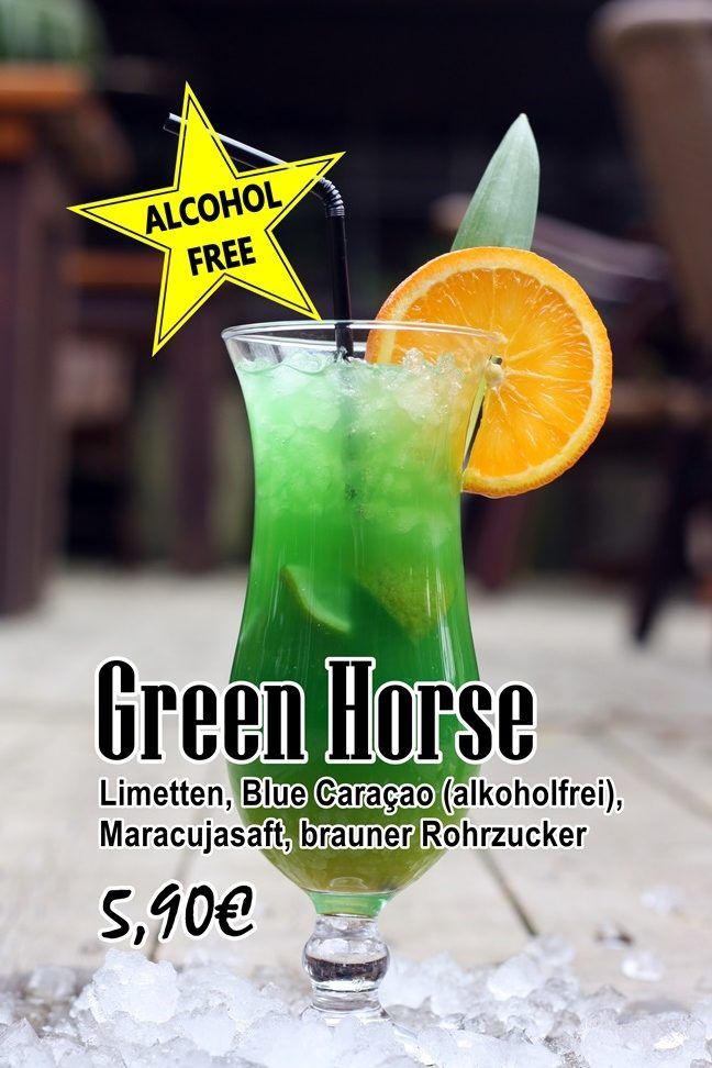 10 green horse free rotated